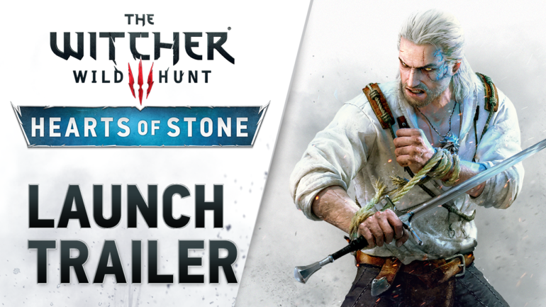 The Witcher 3   Hearts of Stone   Launch Trailer