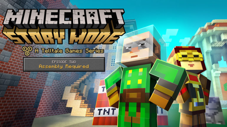 Minecraft Story Mode Ep 2 key art