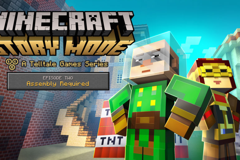 Minecraft Story Mode Ep 2 key art
