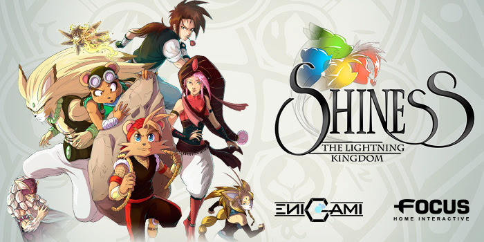 Shiness: The Lightning Kingdom - logo