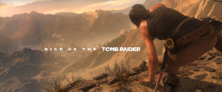 Rise of the Tomb Raider - cover