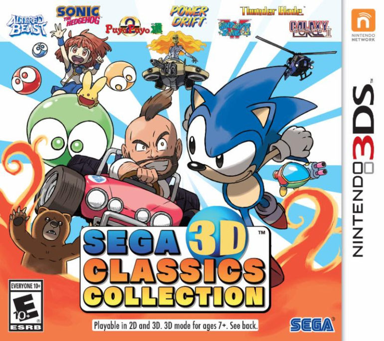 Sega 3D Classics Collection - box art