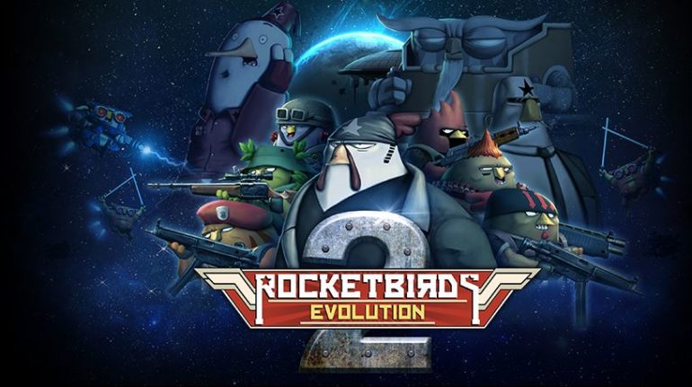 Rocketbirds 2: Evolution - cover