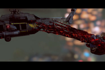 Prototype - Helicopter attack