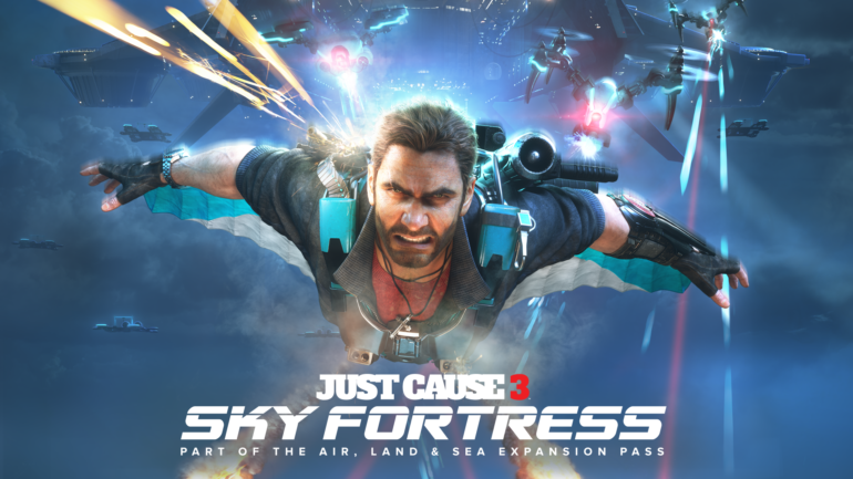 Just Cause 3 - Sky Fortress logo