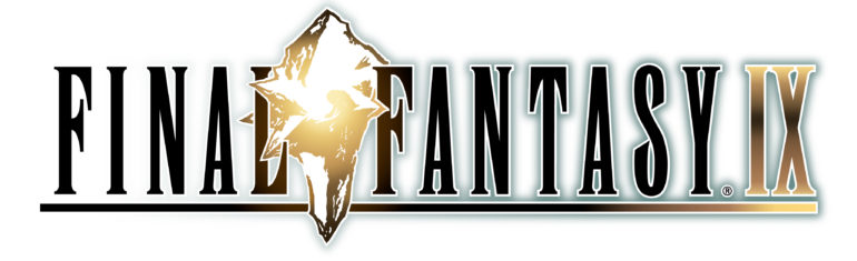 Final Fantasy - white logo