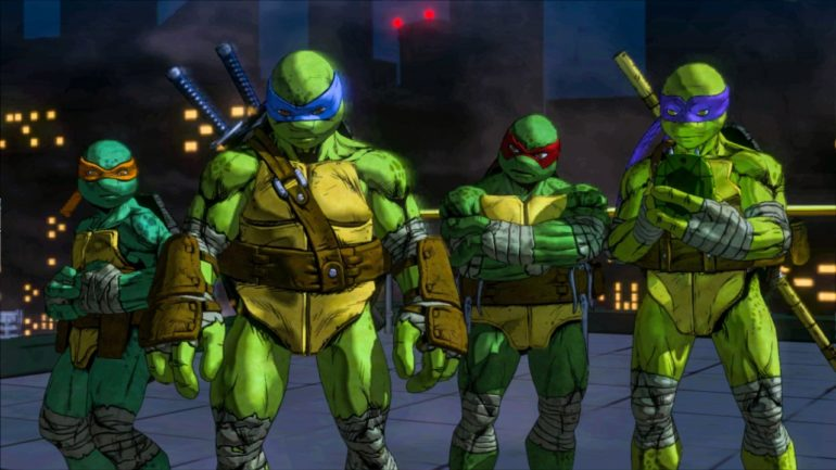 Teenage Mutant Ninja Turtles: Mutants in Manhattan - cover