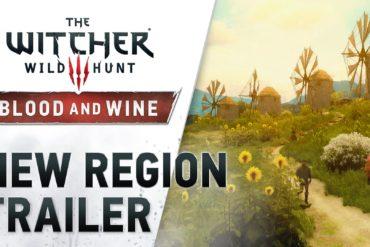 The Witcher III: Wild Hunt - New Region