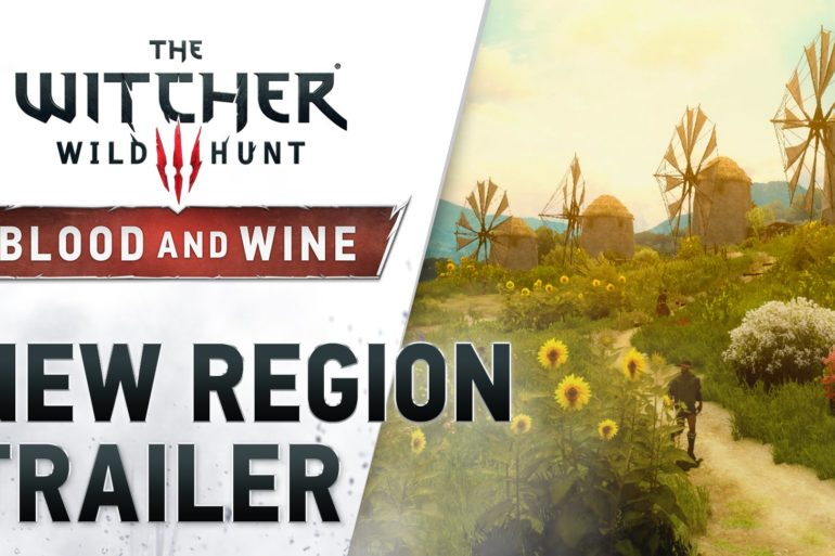 The Witcher III: Wild Hunt - New Region