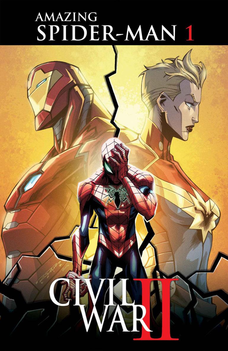 Civil War II Amazing Spider Man 1 Cover