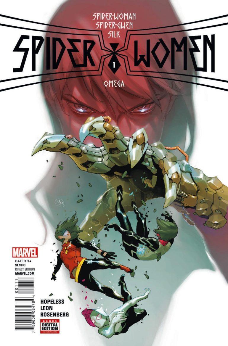 Spider Women Omega 1 Cover