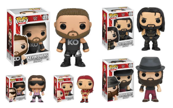 WWE Pops Aug 2016