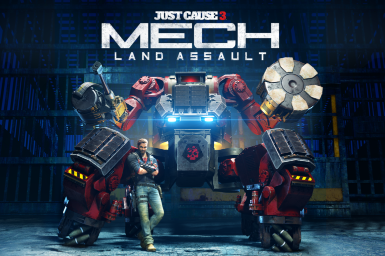 Just Cause 3 - Mech Land Assault cover