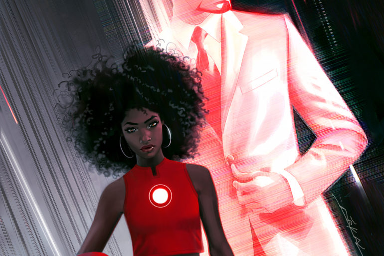 Invincible Iron Man 1 by Jeff Dekal