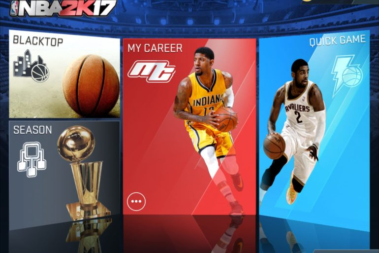 2KSMKT NBA2K17 MOBILE SCREENS MAIN MENU 2732x2048