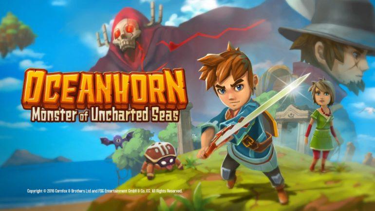 Oceanhorn - Monster of Uncharted Seas - cover
