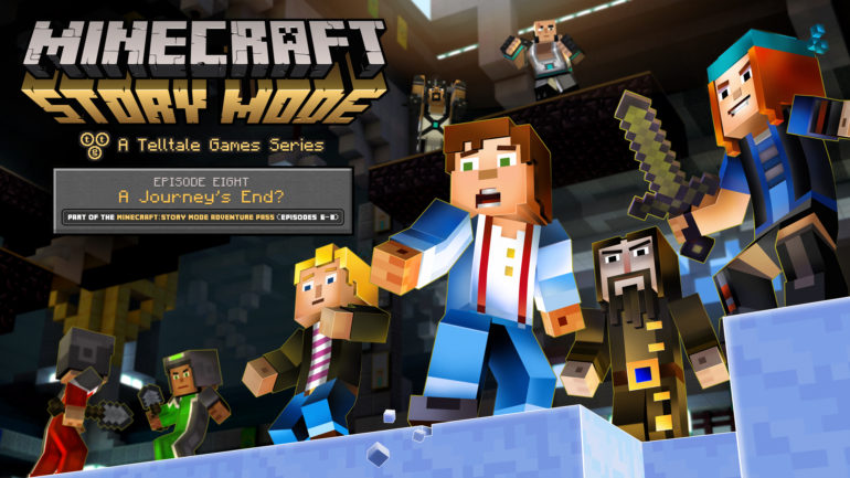 Minecraft: Story Mode - Episode 8 cover