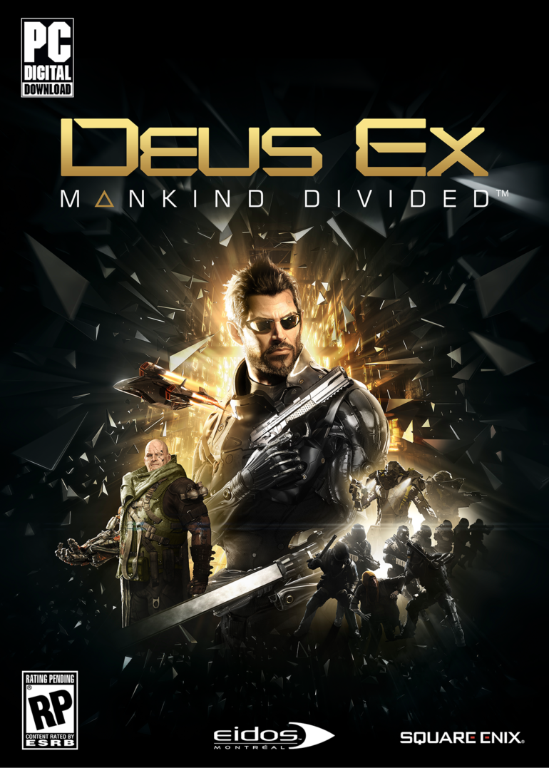 Deus Ex: Mankind Divided - PC packshot