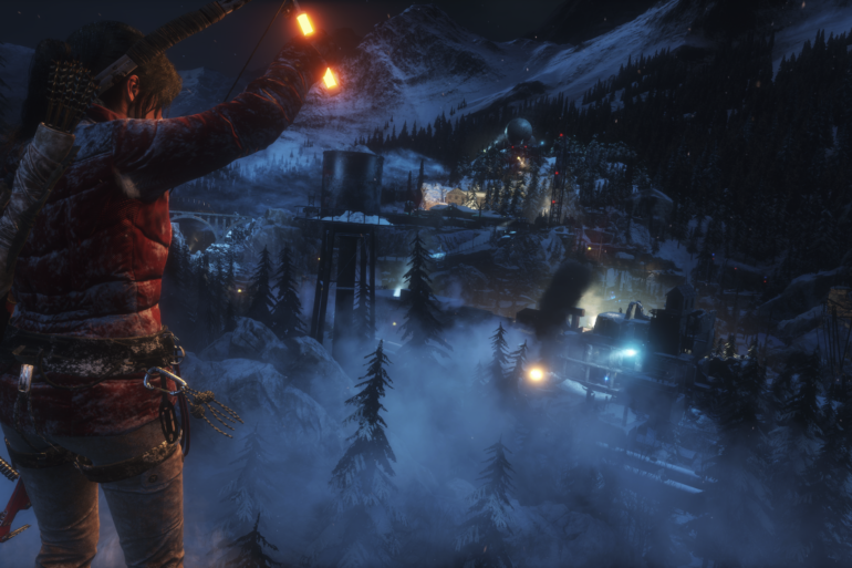 Rise of the Tomb Raider - freezing