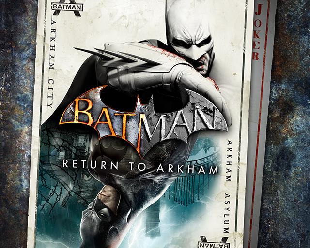 Batman: Return to Arkham - packshot