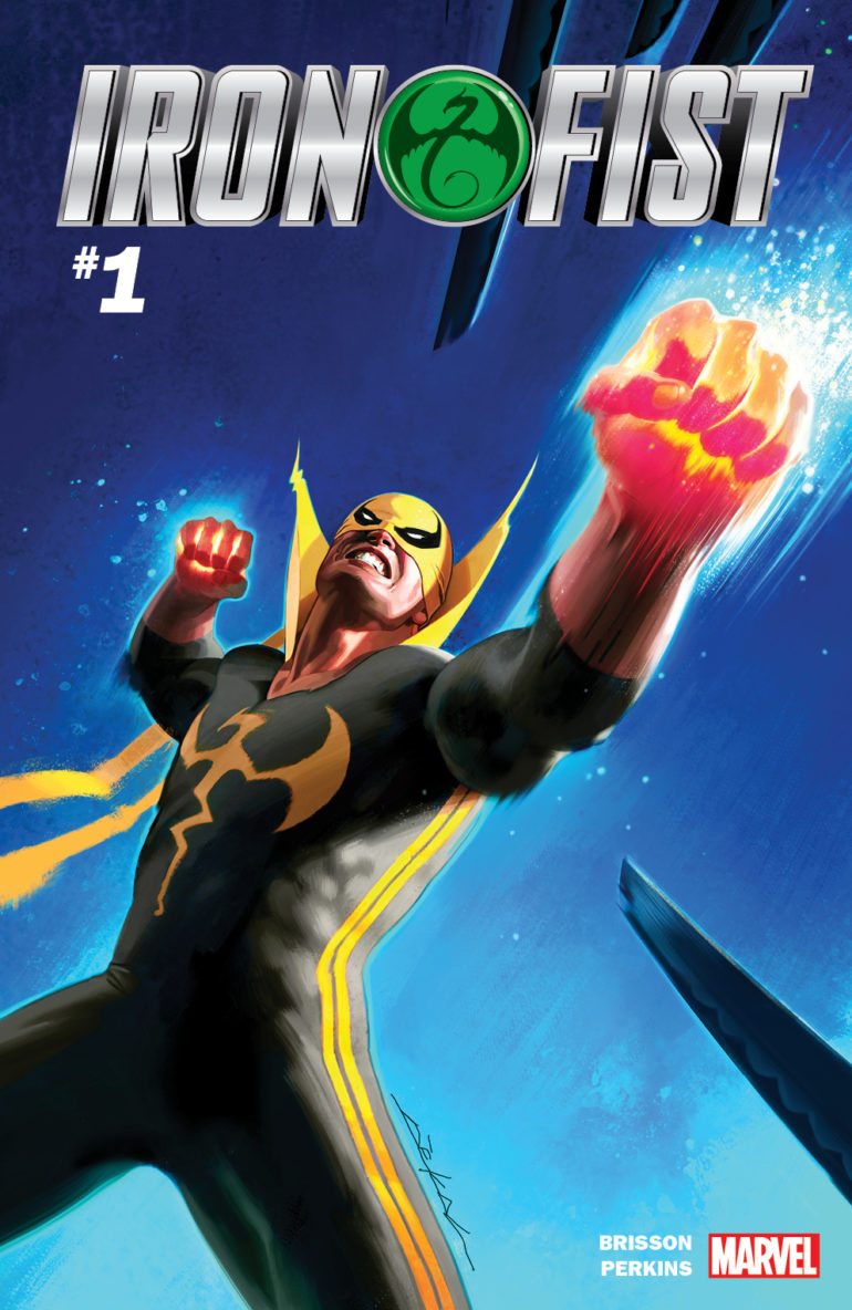 Iron Fist 1 Cover