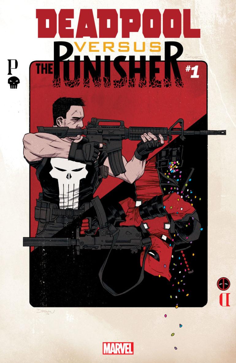 Deadpool vs The Punisher 1 Cover