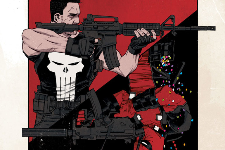 Deadpool vs The Punisher 1 Cover