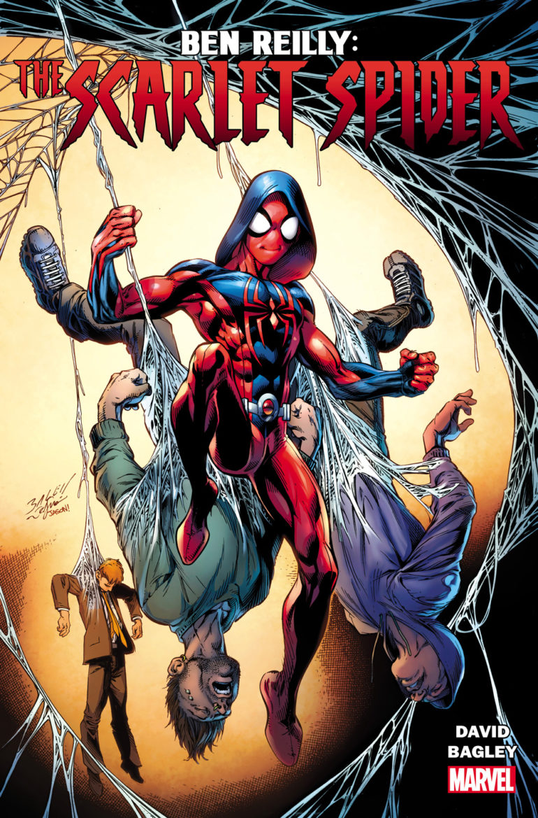 Ben Reilly The Scarlet Spider 1 Cover
