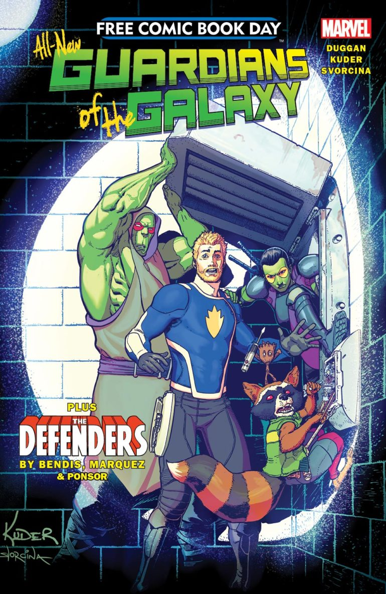 All New Guardians of the Galaxy FCBD Cover