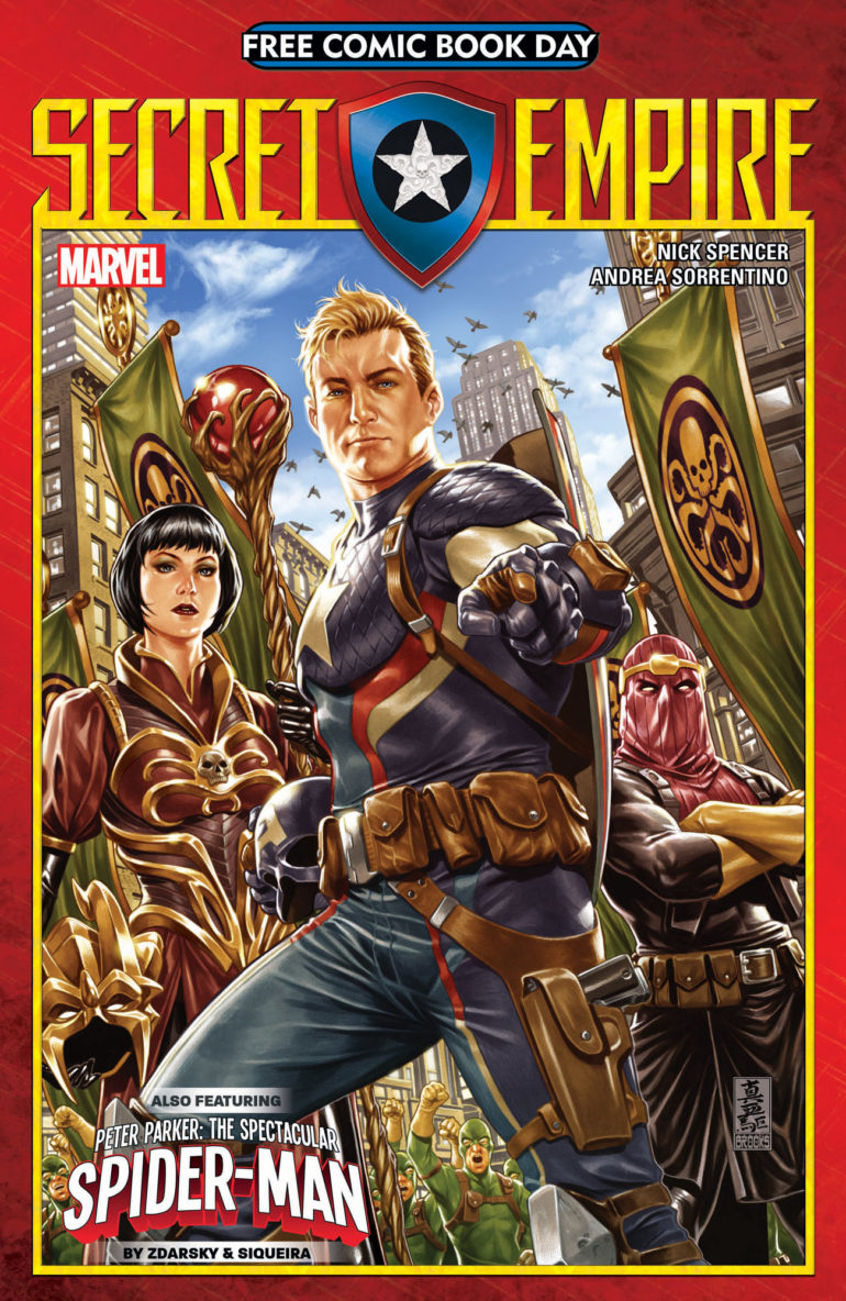 Secret Empire FCBD 1 Cover