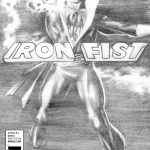 Iron Fist 1 Ross Black and White Variant