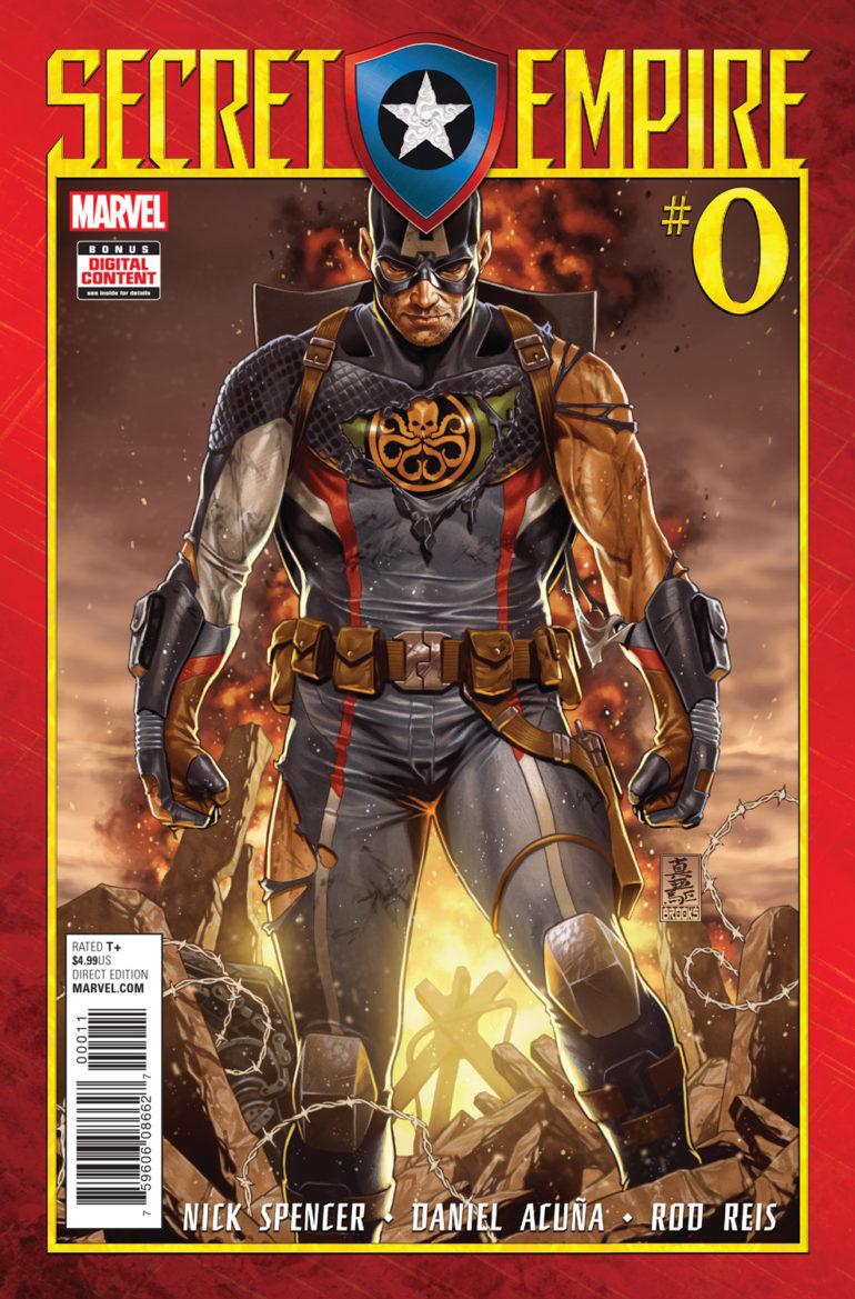 Secret Empire 0 Cover