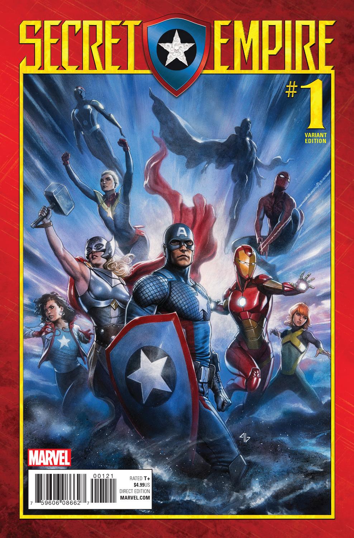 Secret Empire #1 Dan Mora Variant Edition Marvel Comics HP1584