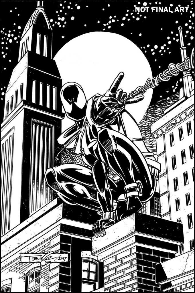 Ben Reilly the Scarlet Spider #1 Variant Edition Toy Cover Marvel Comics CB9532