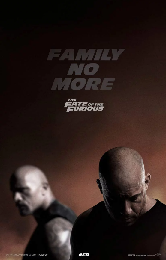 Fast 8 Poster