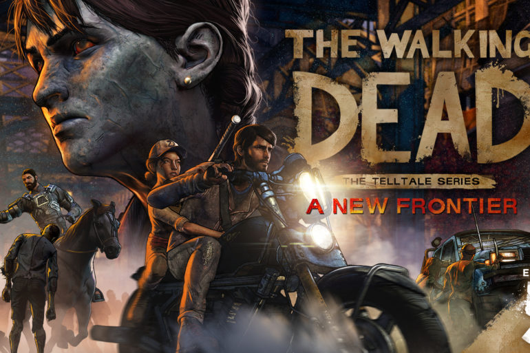 The Walking Dead A new Frontier - Finale logo full