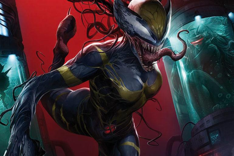 Edge of Venomverse Wolverine Cvr