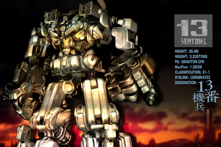13 Sentinels: Aegis Rim - mech