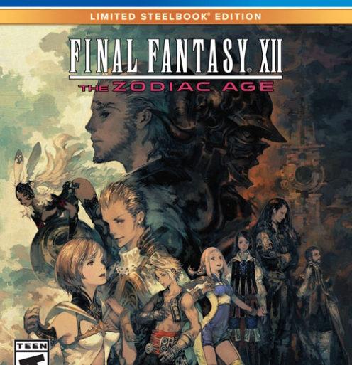 Final Fantasy XII The Zodiac Age - Steelbook
