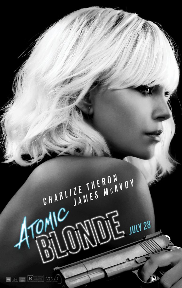 Atomic Blonde - movie poster