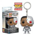 Funko Justice League Pocket Pop Cyborg