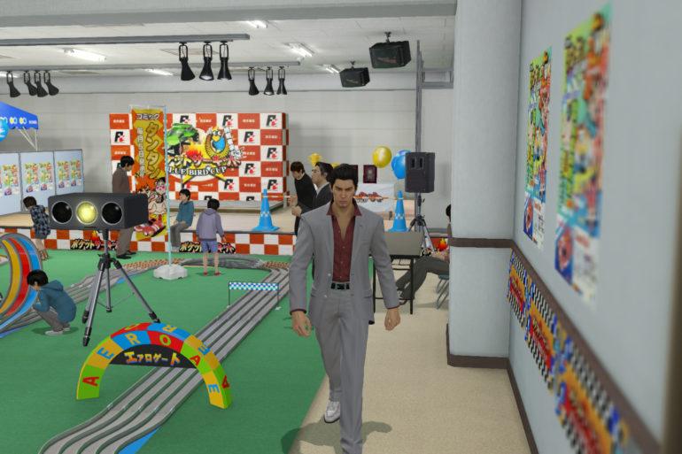 Yakuza Kiwami - daycare
