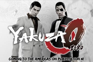 Yakuza 0 - cover