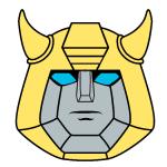 Bumblebee Head Pin