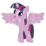 Twilight Sparkle Pin