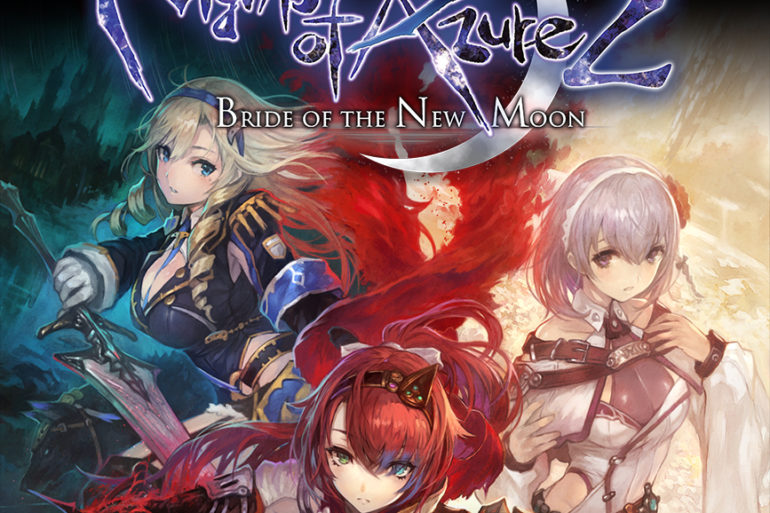 Nights of Azure 2 - box art