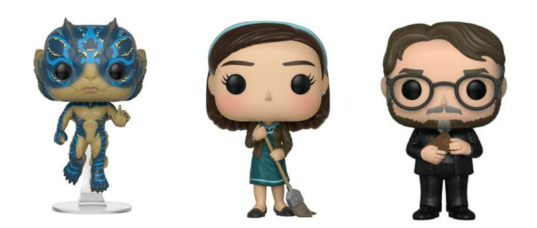 Shape of Water Pop Collage