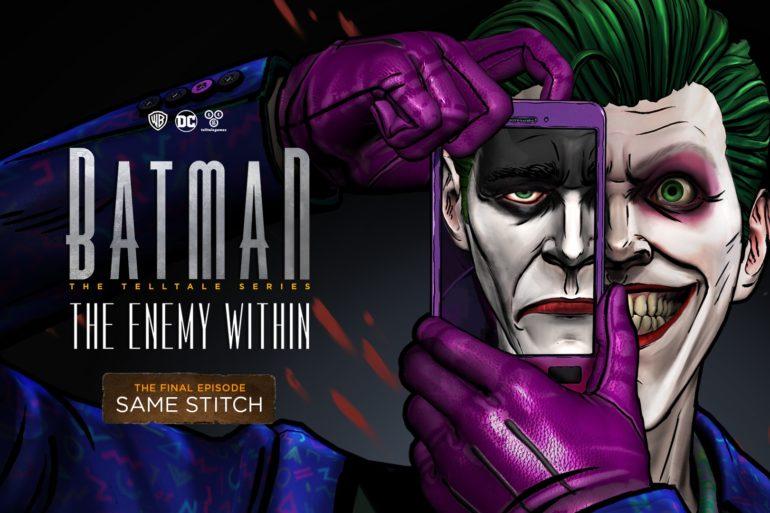 Batman: The Enemy Within - season finale key art