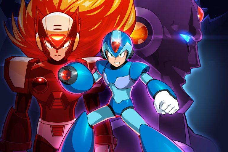 Mega Man X Legacy Art