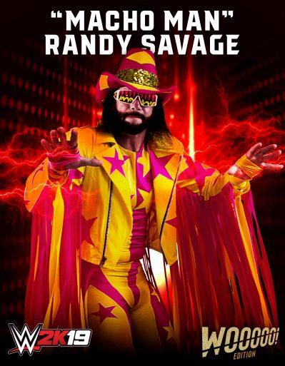 WWE2K19 Roster Macho Man Randy Savage
